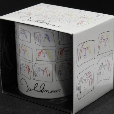 JOHN LENNON BOXED MONTAGE MUG Colour: WHITE