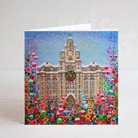 LIVER BUILD XMAS GREETING CARD