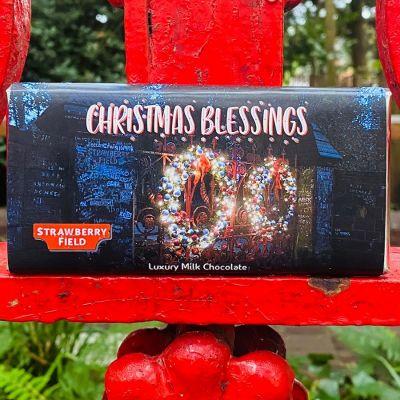 CHRISTMAS GATES CHOCOLATE BAR